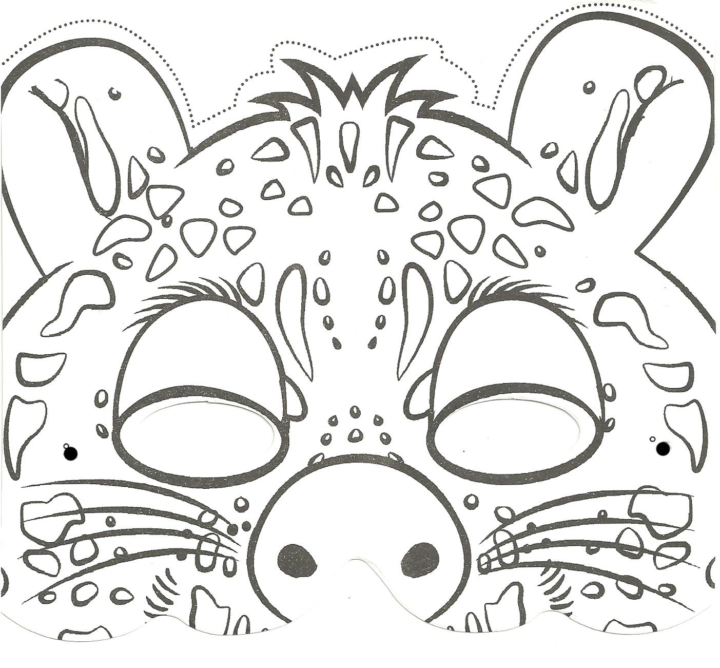 Coloriage de leopard a imprimer - Image leopard a imprimer ...