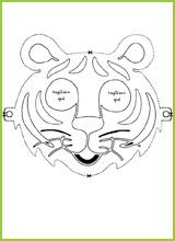 Coloriage De Masques Pour Carnaval
