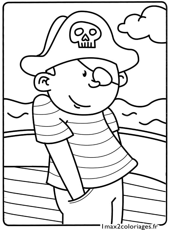 Mes premiers coloriages le petit pirate a imprimer - Mes coloriages a imprimer ...