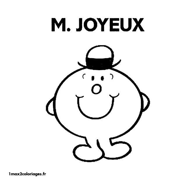 Coloriages Monsieur Madame A Imprimer Et A Colorier