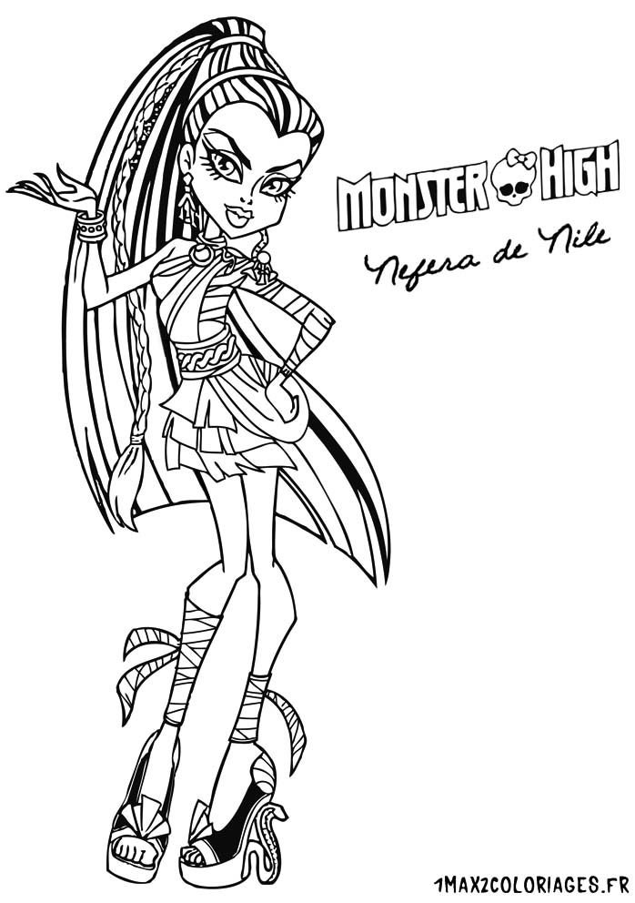 Coloriage Monster High