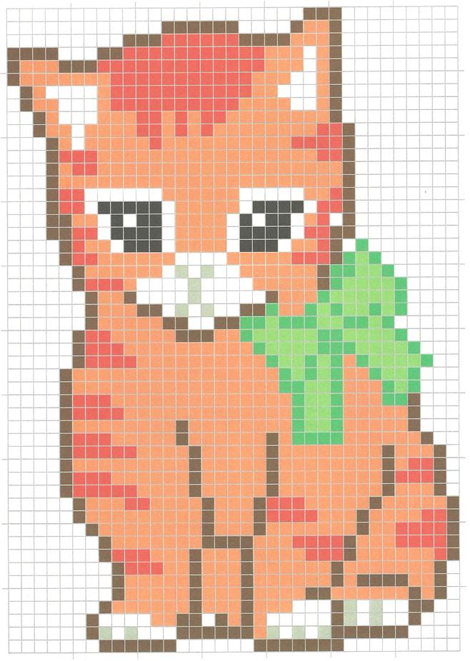 Pixel Art Petit Chaton