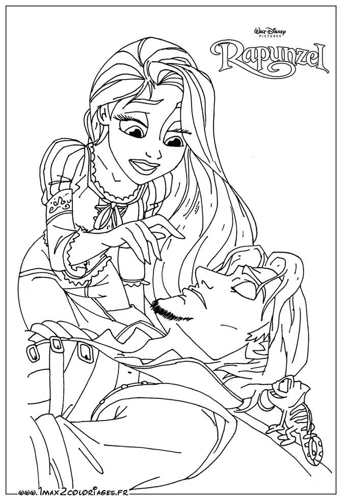 Les coloriages des princesses de walt disney a imprimer et a colorier - Coloriage de walt disney ...