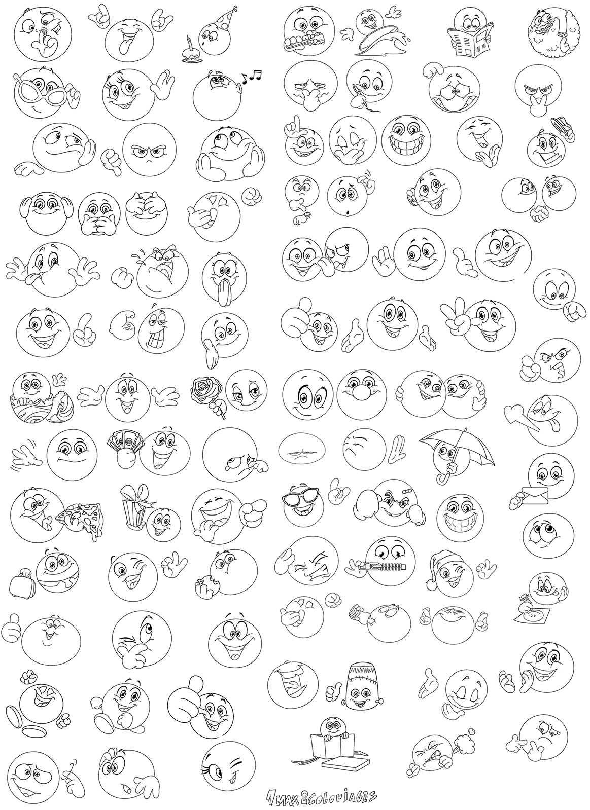 Pin coloriage smiley a imprimer gratuit sunn image forum - Coloriage de smiley ...