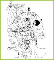 Coloriages super h ros the avengers a imprimer et colorier - Coloriage avengers 2 ...