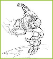 Coloriages Super Heros The Avengers A Imprimer Et A Colorier